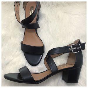 Halogen Leather Sandals